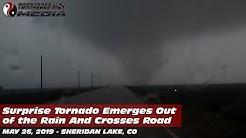 05/26/2019 Sheridan Lake, CO - Tornado Crosses US-385