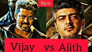 Best 6 Bgm -  Actor Vijay & Ajith | Top bgm collectons| (comments your favorite bgm)