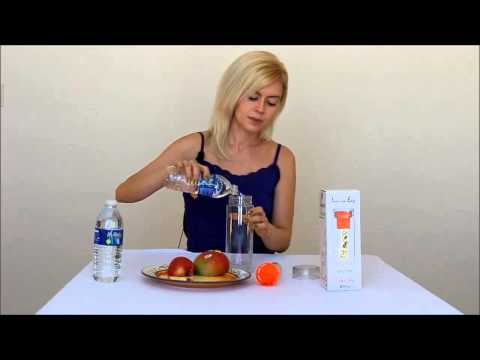 Fruit Infused Water Bottle DEMO