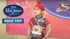 Sardar  Gulabi Ankhen   Performance Indian Idol Junior Road Trip