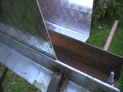 Homemade Bending Tool/sheet metal brake