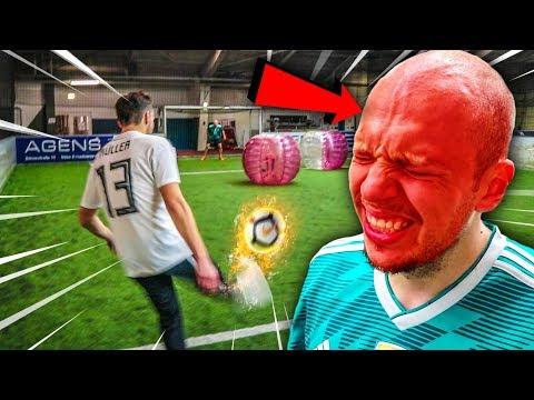 EXTREME 1 VS 1 FUßBALL CHALLENGE! *SCHMERZEN*