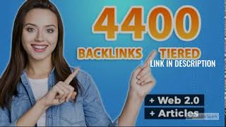 I will build 4400 ultra SEO contextual backlinks tiered-LINK IN DESCRIPTION