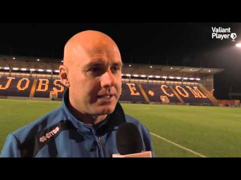 Freeview: Rob Page Post Colchester United (A) - 2015/16