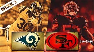 San Francisco 49ers VS Los Angeles Rams NFL 2017 Week 3 Postgame Gathering