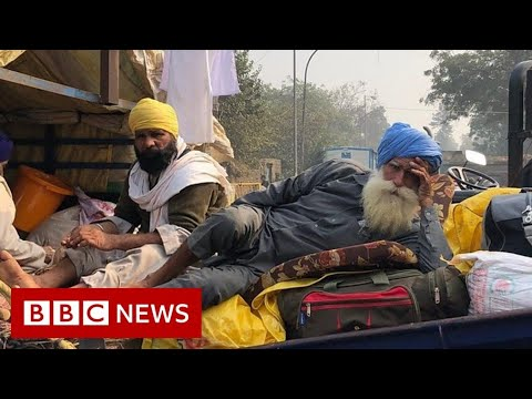 India farmers protests: 'Delhi highways are …