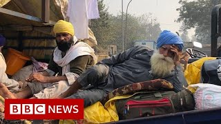 India farmers protests: 'Delhi highways are our home for now' - BBC News