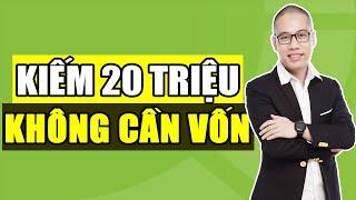 Cơ hội kiếm 20tr đến 100tr KHÔNG CẦN BỎ VỐN | Kiếm tiền Online trên điện thoại tại nhà | Son Piaz
