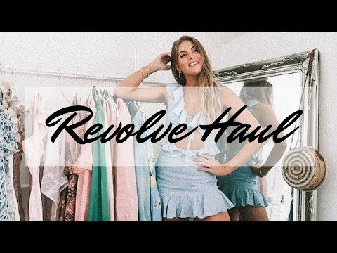 HUGE REVOLVE SALE HAUL & TRY ON | Majorelle, Tularosa, GRLFRND Denim | Sinead Crowe