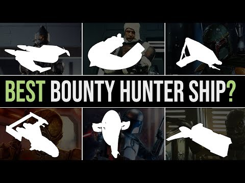 Which BOUNTY HUNTER has the BEST SHIP? | Star Wars Legends
