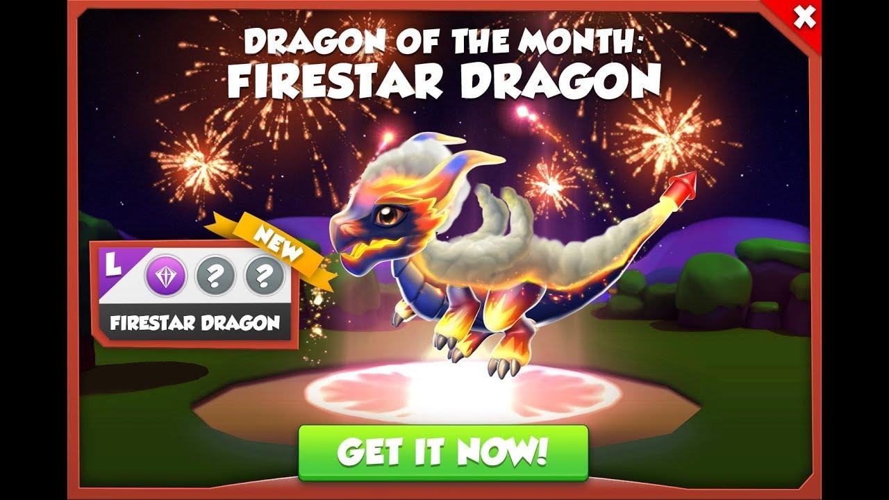 Dragon Legends: How To Breed Firestar Dragon