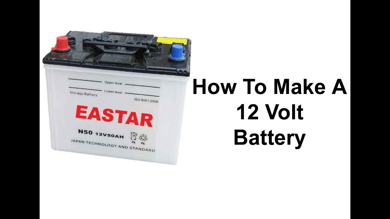 homemade 12 volt battery youtube. Black Bedroom Furniture Sets. Home Design Ideas