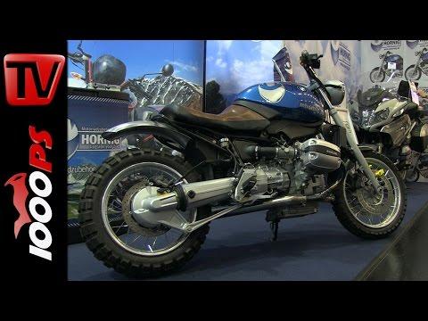 Hornig BMW Scrambler Umbau + Motorradzubehör 2015