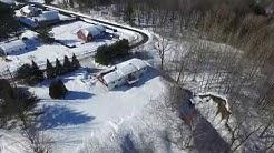 Drone Video - Rue de l'Anse - Saint-Francois-du-Lac, Quebec