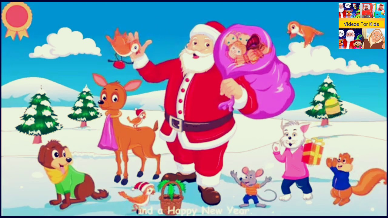 Jingle Bells Songs for Children| Little Baby Bum | Nursery Rhymes for Babies | Videos for kids ...
