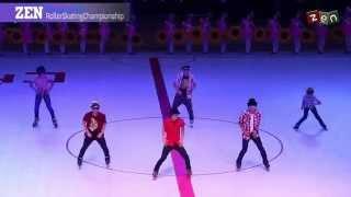 Haining 2014 Asian Roller Skating Championship║Runaway Baby by Bruno Mars