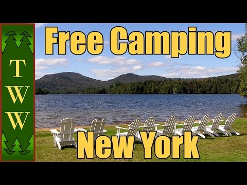 Free Camping In The East Pt.3: New York's Adirondacks