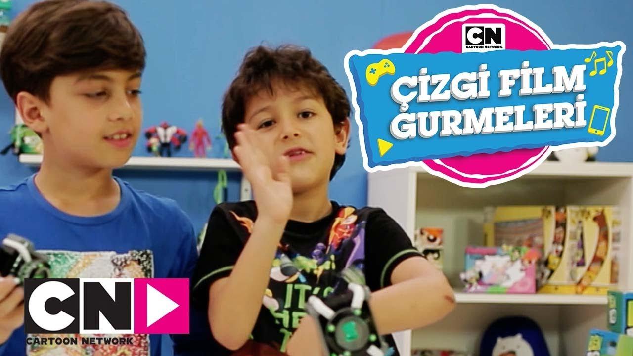 ÇİZGİ FİLM GURMELERİ | Ben 10 Oyuncaklarını Açıyor | Cartoon Network Türkiye
