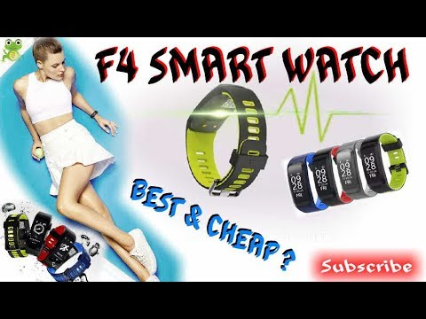 NO 1 F4 SMARTBAND REVIEW FROM EBAY !!! ARE THEY GOOD ? OR NO?