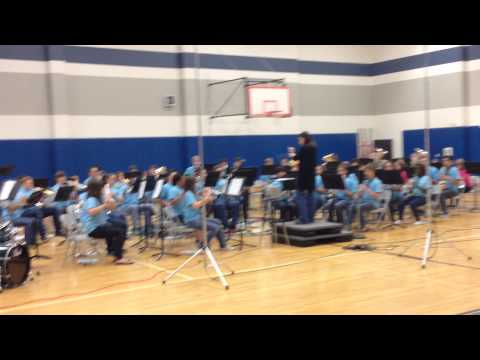 Forestwood Middle School Band 2014 Let it Go