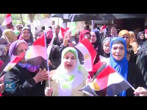 Egypt opens polls for presidential election