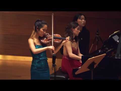 """Verena Chen (陈瑞玲) - Cesar Franck """"Sonate für Violine und Klavier"""" A-Dur Op. 120, 4/4"""
