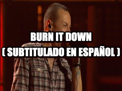 Linkin Park - Burn It Down ( MTV World Stage 2012 / Subtitulado en Español )