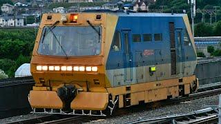 JR東海 確認車R400 逆線走行 東海道新幹線三河安城〜豊橋