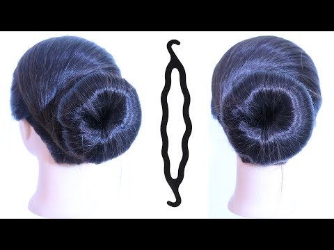 Very Easy And Simple Juda Hairstyle Using Magic Hairlock Everyday