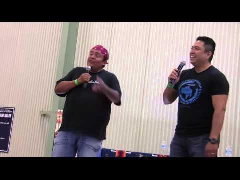 James & Ernie In Pascua 2012