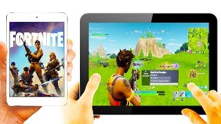 How to Play FORTNITE on MOBILE Devices (Coming Soon)