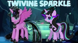 Download Custom TWIVINE SPARKLE || TWILIGHT SPARKLE'S EVIL TWIN MLP My Little Pony Tutorial Mp3 and Videos