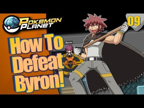 Pokemon Planet - How to Defeat Byron! Part 9