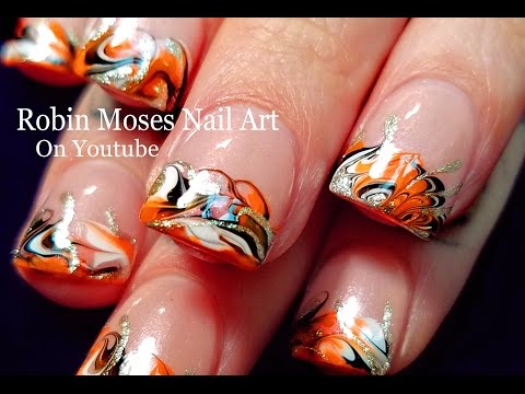 Halloween diy drag marble nail art design tutorial no water halloween diy drag marble nail art design tutorial no water needed youtube prinsesfo Gallery