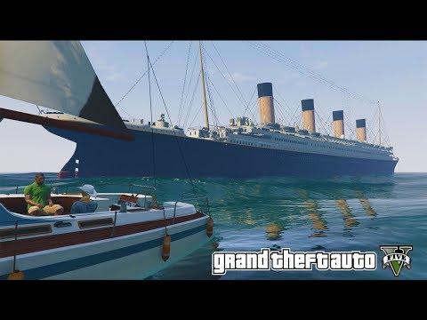 GTA 5 Mods: Титаник в GTA 5