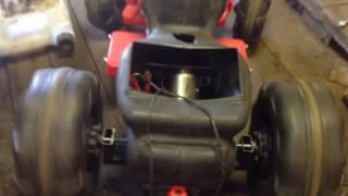 Моторчик стеклоочистителя в детской машинке
