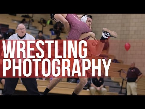 How To Shoot Wrestling Photography (Canon 7D Mark II)