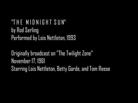 Twilight Zone The Midnight Sun Lois Nettleton  Book