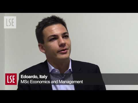 Edoardo, Italy -  MSc Economics and Management | Student profile