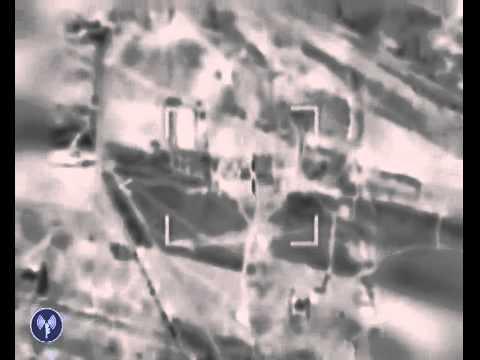 Israel Air Force Strikes Terror Tunnel