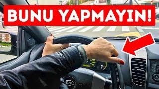 Hızlı Araba Kullanırken Yanlış Yaptığınız 8 Şey