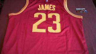 Баскетбольная джерси NBA Cleveland Cavaliers № 23 new collection магазин Basket Family