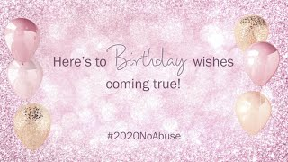 My Birthday Wishes 2020