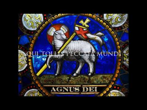 Agnus Dei (latin) ♱ Lamb of God