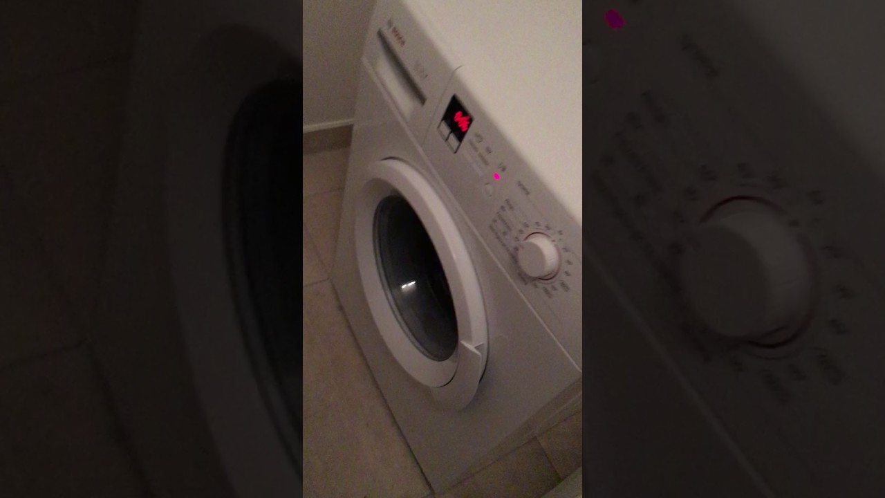 washing machine noise