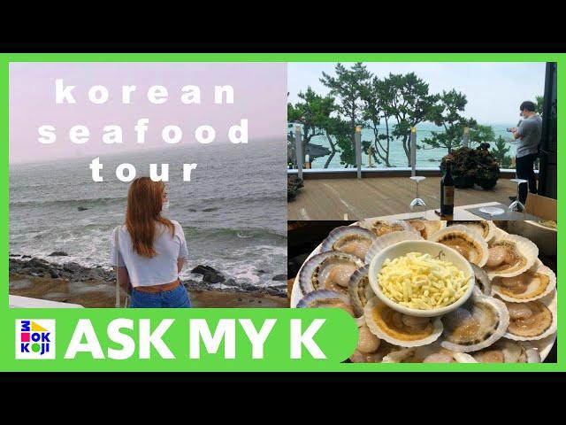 Ask My K : Adrienne Hill - VLOG korean SEAFOOD + exploring BUSAN