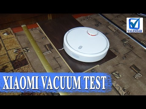 Test Xiaomi Mi Vacuum as the vacuum cleaner rides sills, ledges and black laminate
