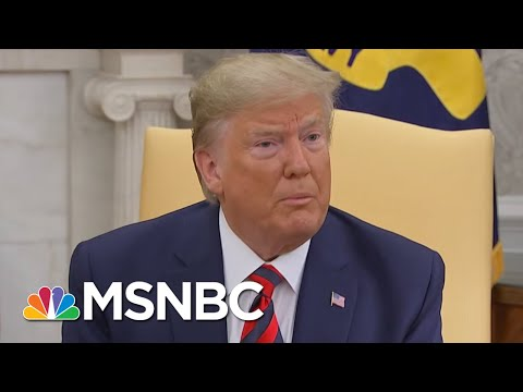 Trump Slammed By His Own Staff For Whistleblower Complaint   The Beat With Ari Melber   MSNBC