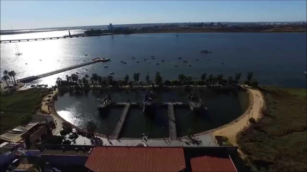Vuelo En El Muelle De Las Carabelas La Rabida Palos De La Frontera Huelva