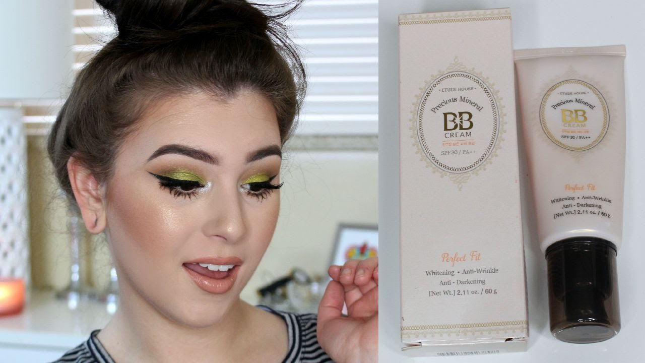 First Impression Etude House Precious Mineral Bb Cream Perfect Cc Fit Spf30 Pa Youtube